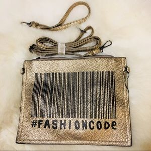 Gold & Black FASHION CODE  Versatile Purse